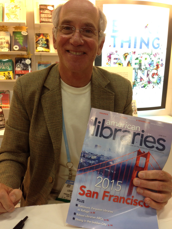 Louis Sachar, author of Holes, at the 2015 ALA Annual Conference and Exhibition