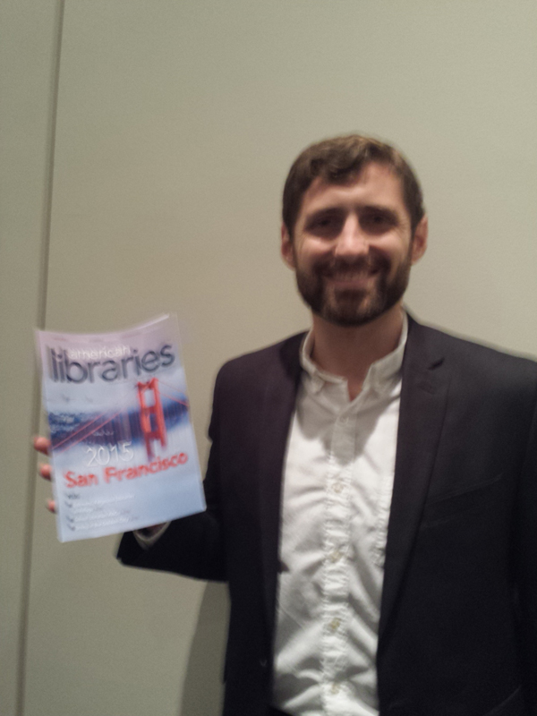 Phil Klay, 2014 National Book Award Winner, at the 2015 ALA Annual Conference and Exhibition.
