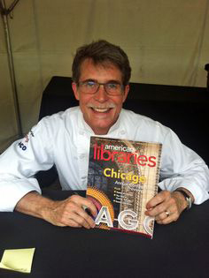 Chef, author, and TV host (Mexico: One Plate at a Time) Rick Bayless at #alaac13.
