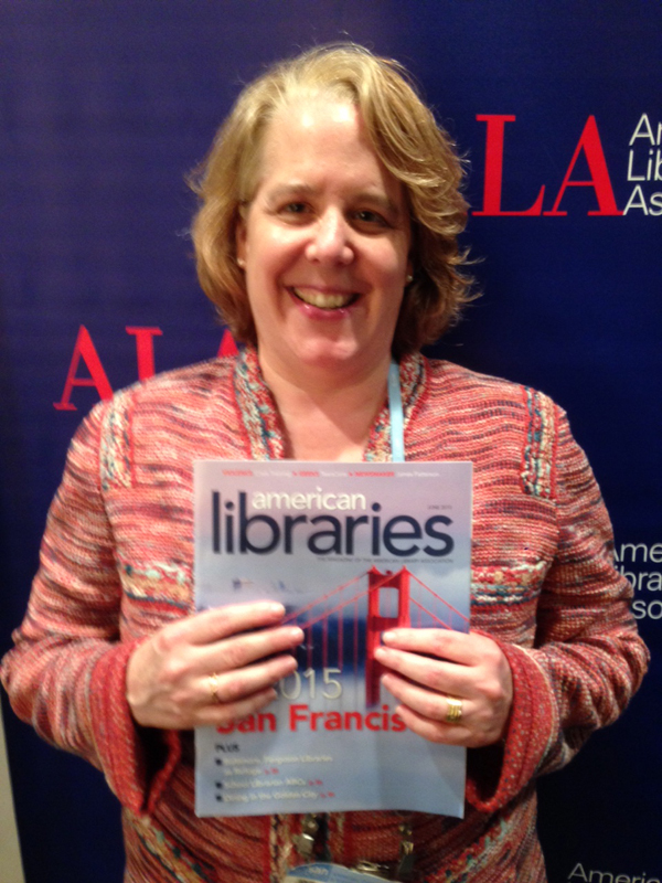 Attorney Roberta Kaplan, Opening General Session speaker and author of Then Comes Marriage: United States v. Windsor and the Defeat of DOMA at #alaac15