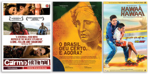 Films offered by Digitalia Film Library (left, center) and India for Everyone (right).