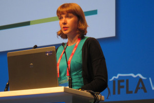 Julia Brungs, IFLA policy and projects officer
