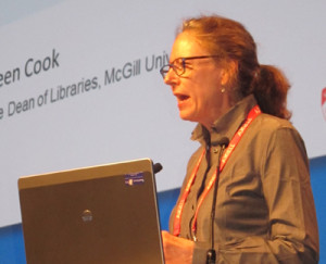 Colleen Cook, dean of libraries at McGill University in Montreal