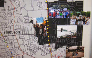 """A portion of the """"Documenting Ferguson"""" poster"""