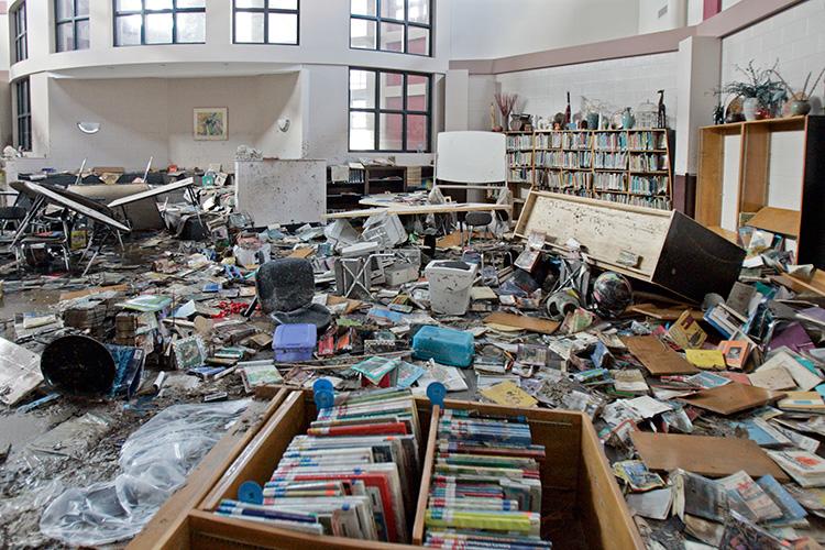 Gorenflo Elementary School Library