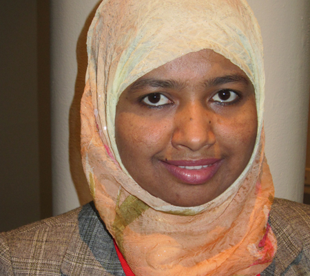 Shaharima Parvin, 2016 OCLC Fellow from East West University, Bangladesh