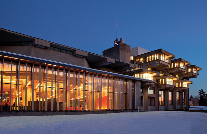 The Claire T. Carney Library, University of Massachusetts