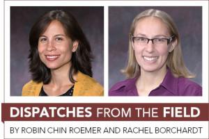 Robin Chin Roemer and Rachel Borchardt
