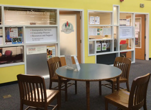 "The Littleton (Colo.) Immigrant Resources Center at Bemis Library. <span class=""credit"">Photo: Bemis Library</span>"