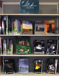 The Emerging Author Collection at Glen Ellyn (Ill.) Public Library is restricted to authors who live in or around Chicago or books that are about the area. Photo: Glen Ellyn Public Library