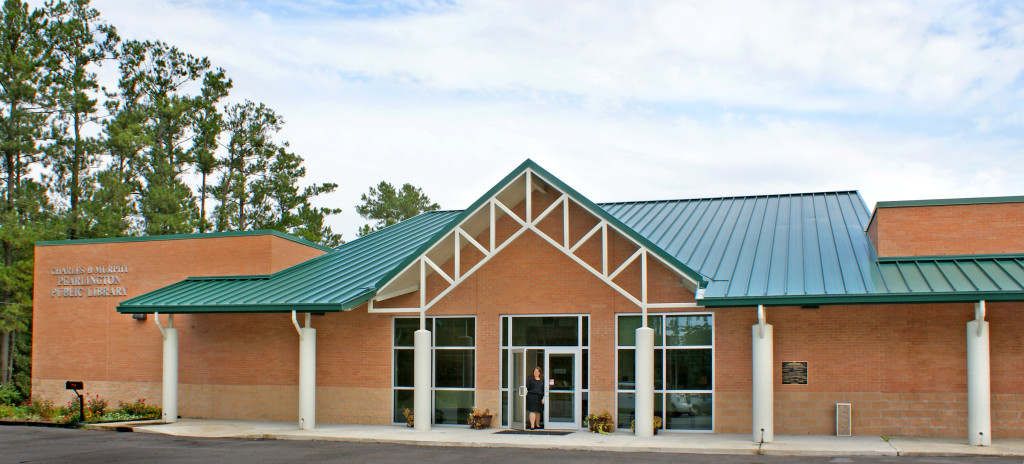 Hancock County Library System's new Pearlington branch, which reopened in 2013. Photo: Hancock County Library System