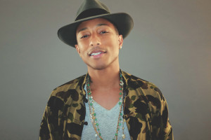 Singer, songwriter, producer, and now children's book author Pharrell Williams. Photo: Mimi Valdes