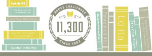 11,300 books challenged since 1982