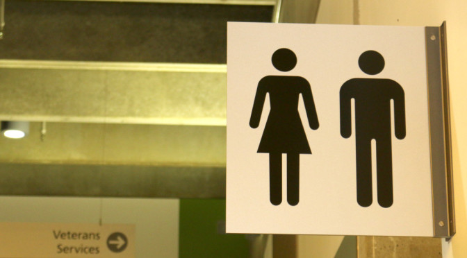 Portland (Oreg.) Community College includes single-stall gender-neutral restrooms in all of its libraries and new campus buildings.