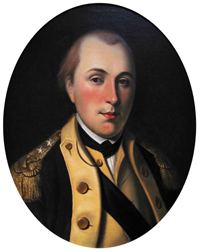 Marquis de Lafayette by Charles Willson Peale, 1779-80