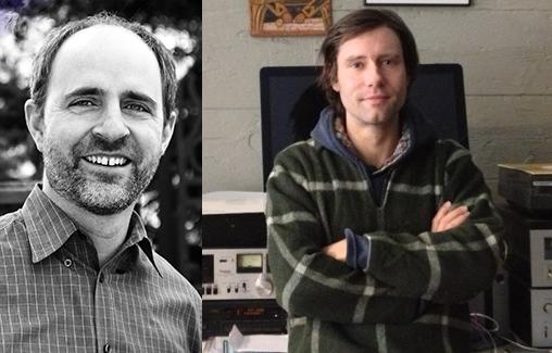 Michael J. Kramer (left) and Nathan Salsburg