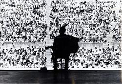 Guitarist Mance Lipscomb, Berkeley Folk Music Festival, 1961. Photograph: Chris Stracwitz, courtesy of Michael J. Kramer