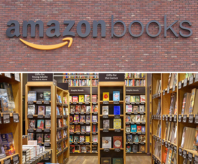 The Amazon bookstore in Seattle.