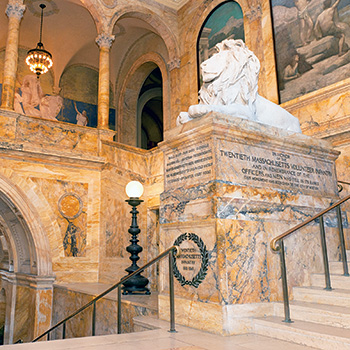 "Boston Public Library's Central Library. <span class=""credit"">Photo: Boston Public Library</span>"