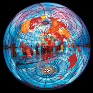 "The Mapparium at the Mary Baker Eddy Library. <span class=""credit"">Photo: Mary Baker Eddy Library</span>"