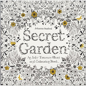 Secret Garden: An Inky Treasure Hunt and Coloring Book , by Johanna Basford