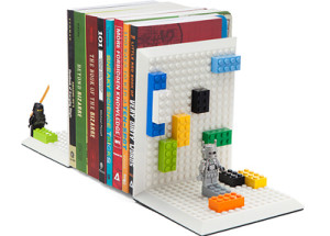Thinkgeek Build on Brick bookends