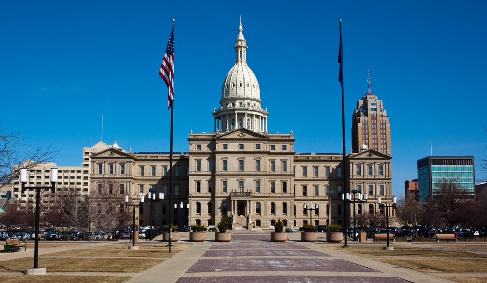 Michigan State Capitol Building (Photo: Shutterstock/Dmitriy Bryndin)
