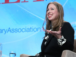 Chelsea Clinton at the 2016 ALA Midwinter Meeting