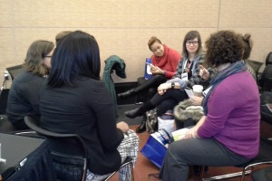 Group discussion at Midwinter