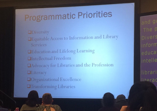 Council II discusses FY 2017 Programmatic Priorities. Photo courtesy of Lauren Pressley