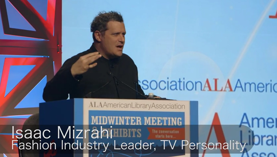 Isaac Mizrahi on writing