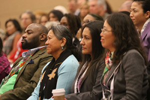 Participants at the Dr. Martin Luther King Sunrise Celebration in Boston