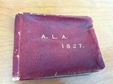 The 1897 ALA photo album prepared by Frederick W. Faxon