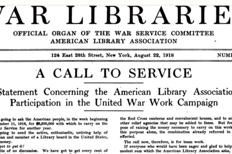 The Library War Service