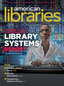 American Libraries May 2016 cover
