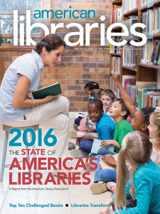 Cover of The State of America's Libraries 2016