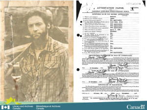 "Library and Archives Canada announced the acquisition of the declassified journals and military records of soldier James ""Logan"" Howlett, who bears a striking resemblance to Hugh Jackman."