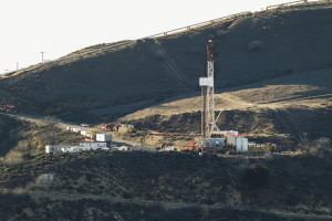 Southern California Gas Company's Aliso Canyon facility, site of the gas leak in Los Angeles.