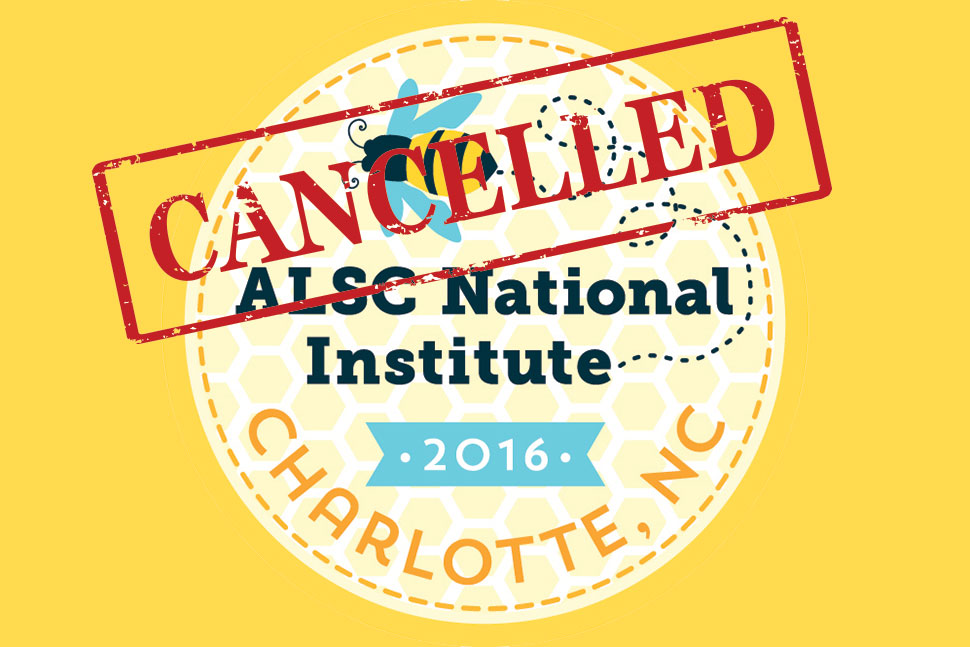 ALSC National Institute cancelled