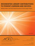 Cover of Documented Library Contributions to Student Learning and Success