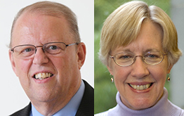 Jim Neal, Susan Hildreth