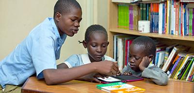 Kenyan readers. Photo by Worldreader