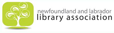 Newfoundland and Labrador Library Association logo
