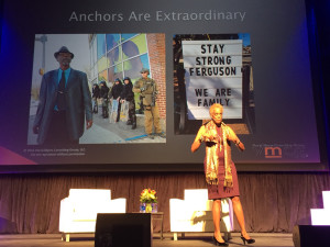 Entrepreneur, author, and cultural innovator Verna Myers was the featured BIG IDEAS speaker for the Public Library Association 2016 conference in Denver.