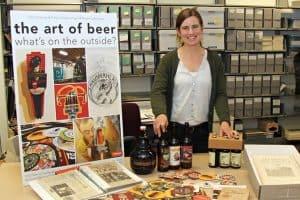 Tiah Edmunson-Morton, archivist of the Oregon Hops and Brewing Archives at Oregon State University Photo: Krista Joy Johnson