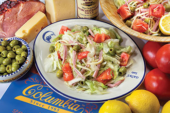 "The original ""1905 salad"" at Columbia"