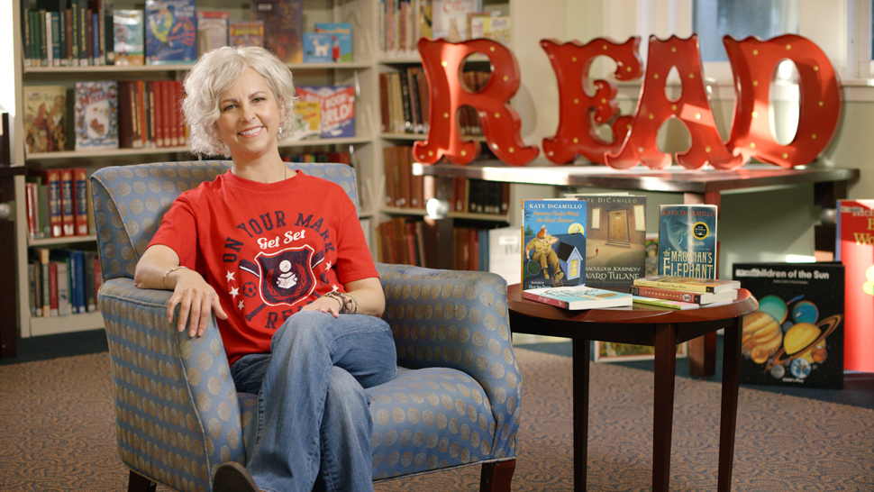 Two-time Newbery Medal–winning author Kate DiCamillo is the 2016 Collaborative Summer Library Program National Summer Reading Champion.