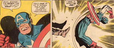 Captain America's 1967 trash-talk fail