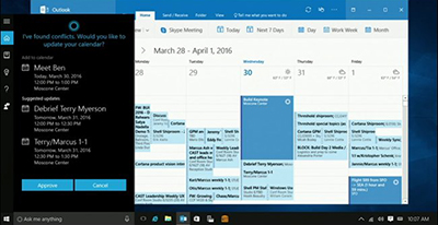 Improved Cortana on Windows 10
