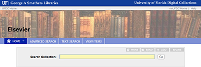 For articles by University of Florida authors published by Elsevier, the university's institutional repository (IR@UF) will enable access to the full published article online on ScienceDirect